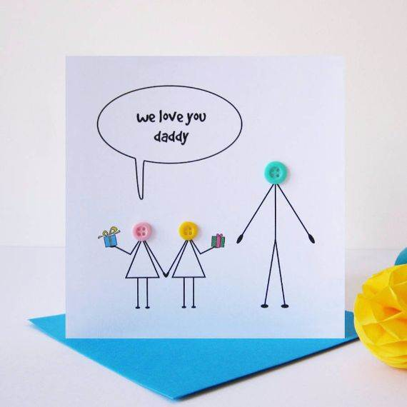 Homemade Fathers Day Card Ideas  (15)