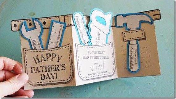 Homemade Fathers Day Card Ideas  (6)
