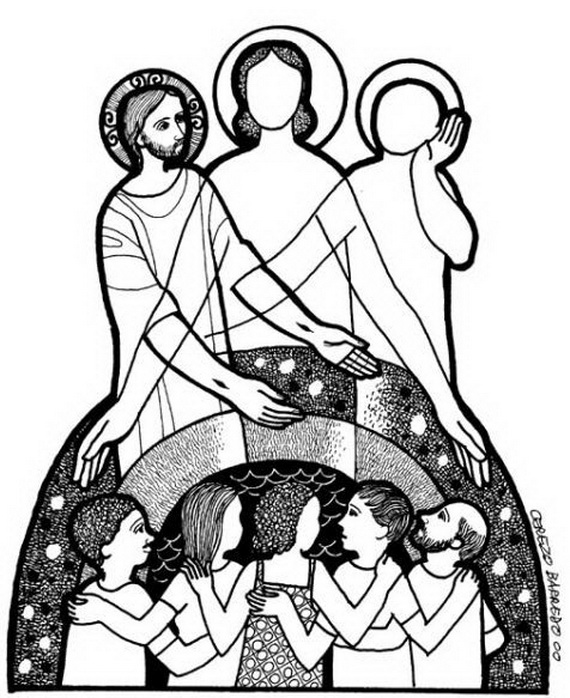 Trinity Sunday Coloring Pages | family holiday.net/guide to family ...