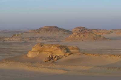 Wadi Al-Hitan (Whale Valley) World Heritage Site in Egypt