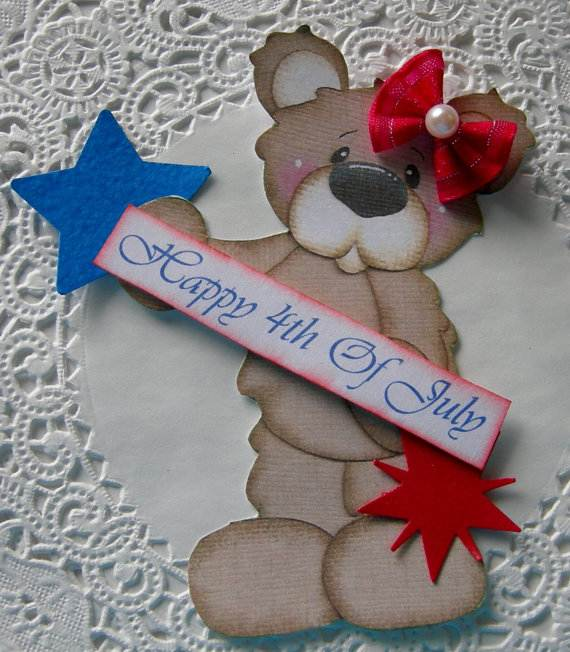 4th July Independence Day Homemade  Greeting Cards (17)