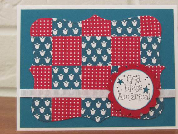 4th July Independence Day Homemade  Greeting Cards (21)