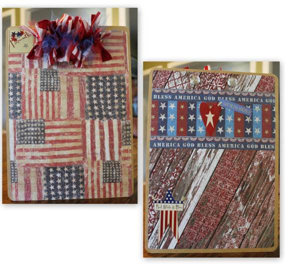 4th July Independence Day Homemade  Greeting Cards (24)