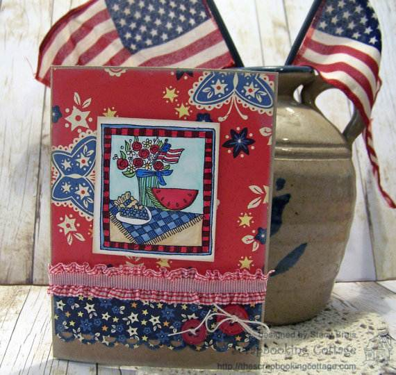 4th July Independence Day Homemade  Greeting Cards (3)