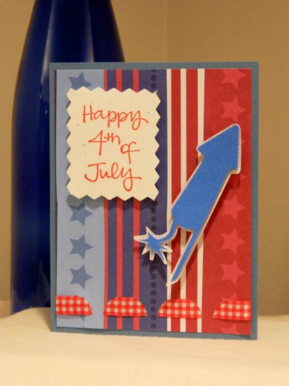4th July Independence Day Homemade  Greeting Cards (37)