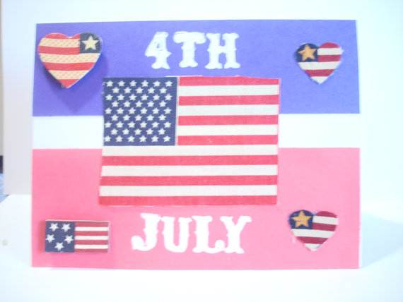 4th July Independence Day Homemade  Greeting Cards (42)