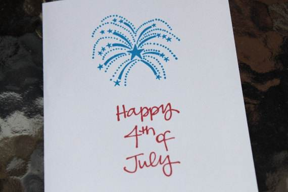 4th July Independence Day Homemade  Greeting Cards (43)