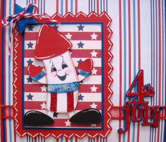 4th July Independence Day Homemade  Greeting Cards (53)