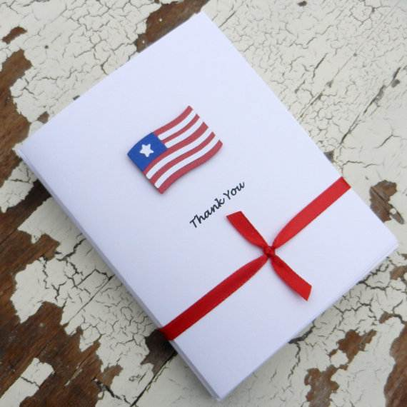 4th July Independence Day Homemade  Greeting Cards (6)