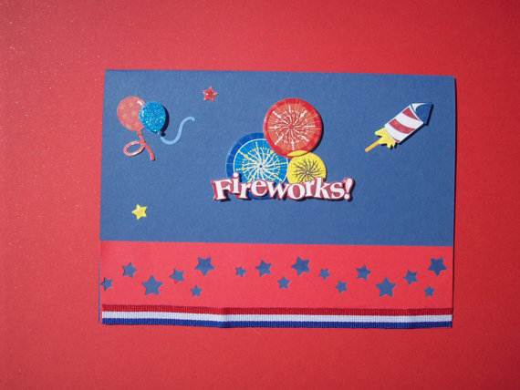 4th July Independence Day Homemade  Greeting Cards (8)