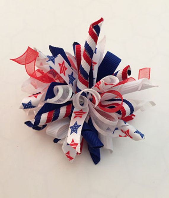 4th of July Firework Hair Bow… (1)