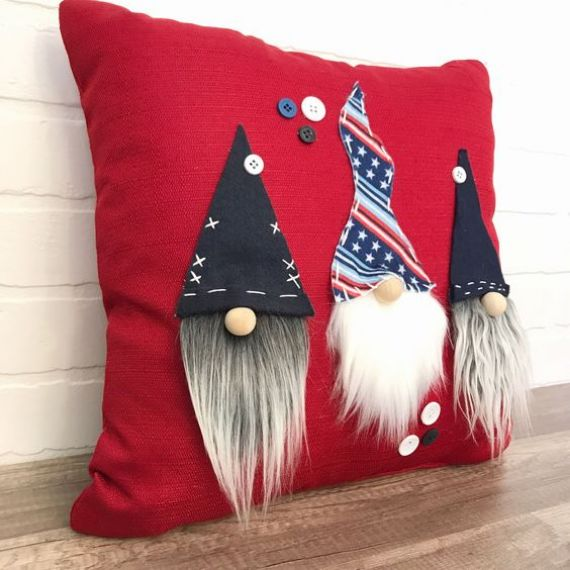 _4th of July Patriotic Pillow Designs