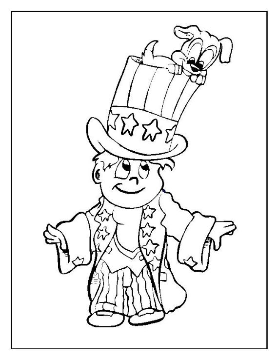 Top 35 Free Printable 4th Of July Coloring Pages Online | July ... | 738x570