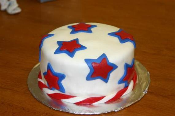 Independence Day Cakes & Cupcakes Decorating Ideas (11)