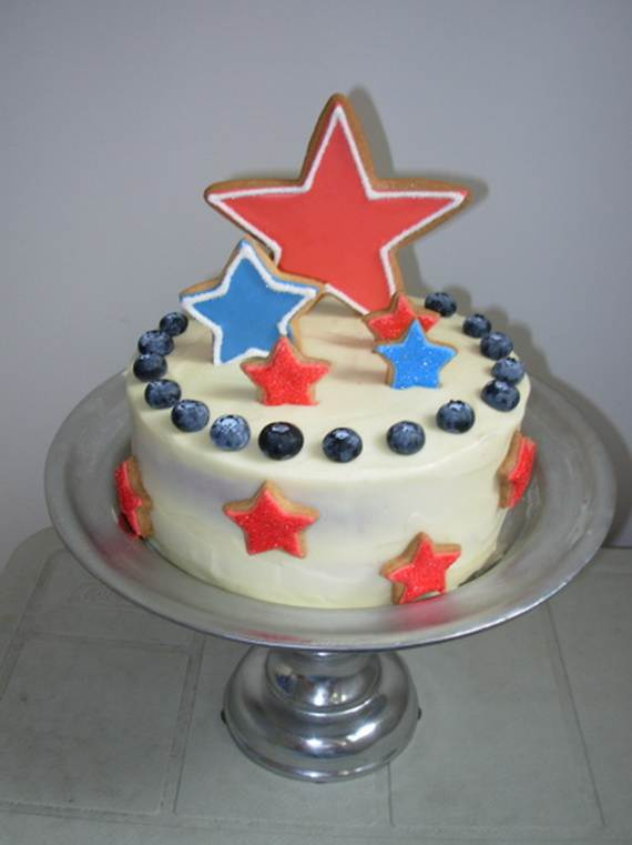Independence Day Cakes & Cupcakes Decorating Ideas (14)