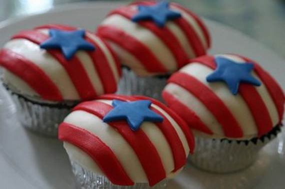 Independence Day Cakes & Cupcakes Decorating Ideas (18)