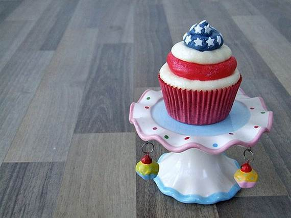 Independence Day Cakes & Cupcakes Decorating Ideas (21)