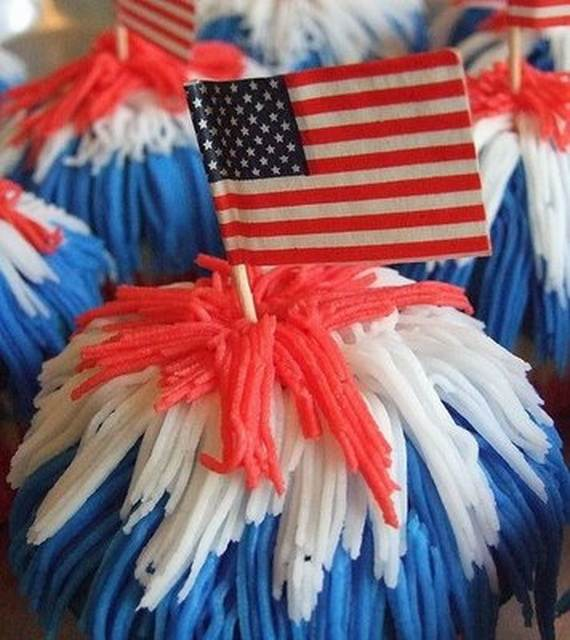 Independence Day Cakes & Cupcakes Decorating Ideas (23)