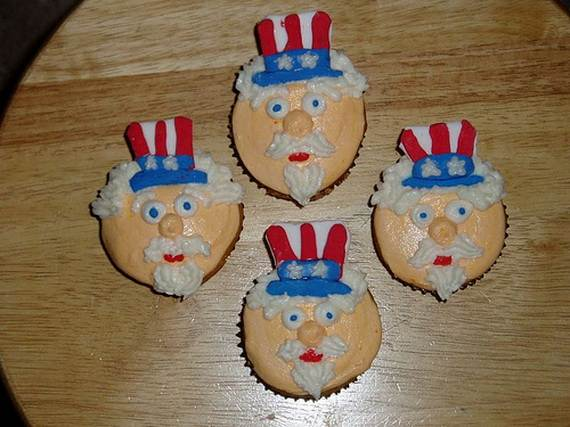 Independence Day Cakes & Cupcakes Decorating Ideas (28)