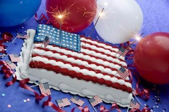 Independence Day Cakes & Cupcakes Decorating Ideas (31)