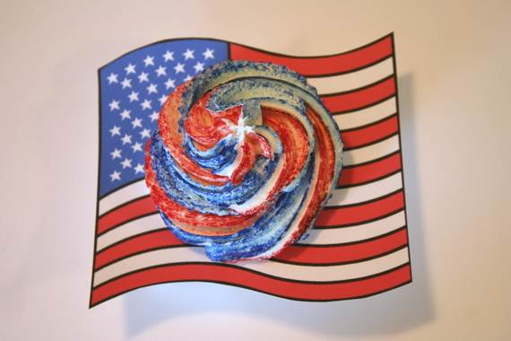 Independence Day Cakes & Cupcakes Decorating Ideas (38)