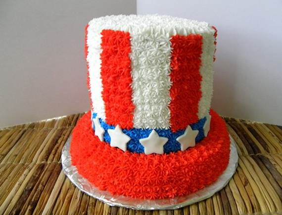 Independence Day Cakes & Cupcakes Decorating Ideas (6)