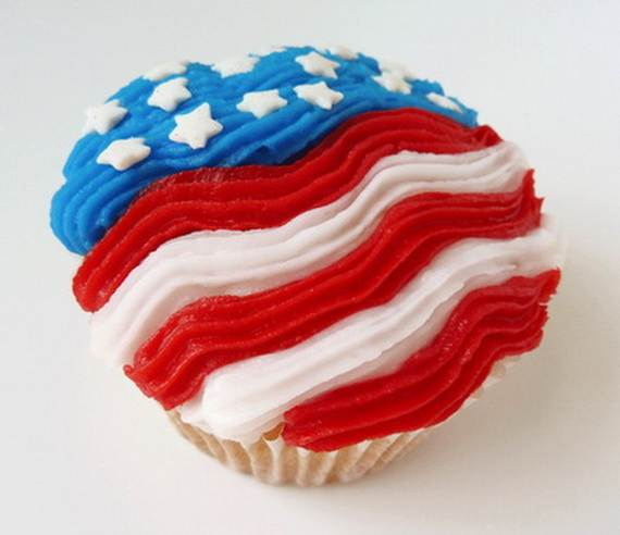Independence Day Cakes & Cupcakes Decorating Ideas (8)