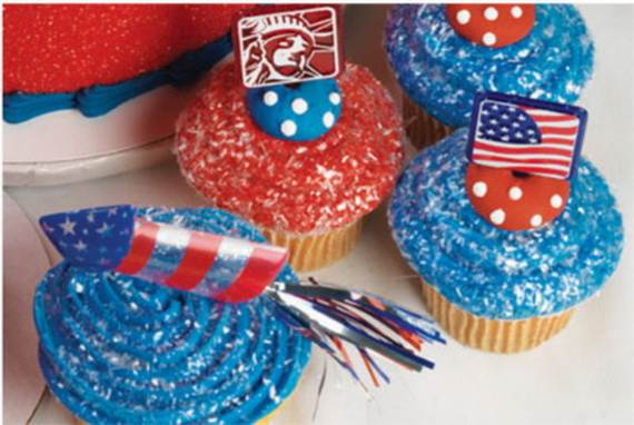 Independence Day Cakes  Cupcakes Decorating Ideas