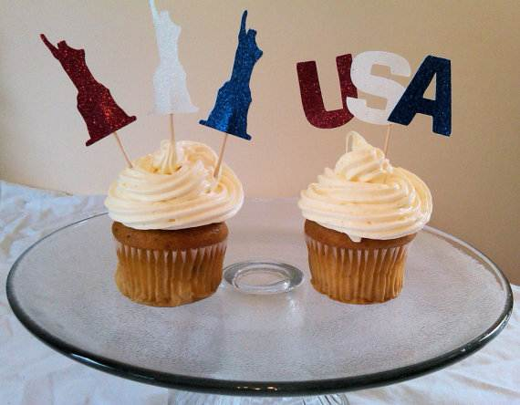 Independence day Cupcakes Decorating Ideas (28)