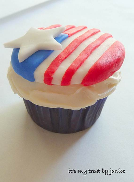 Independence day Cupcakes Decorating Ideas (29)