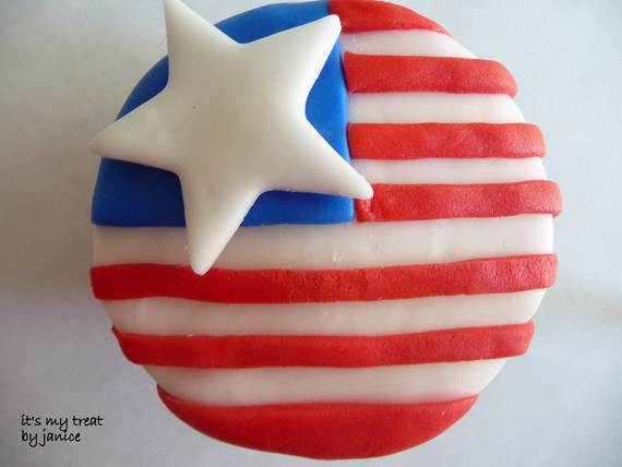 Independence day Cupcakes Decorating Ideas (33)