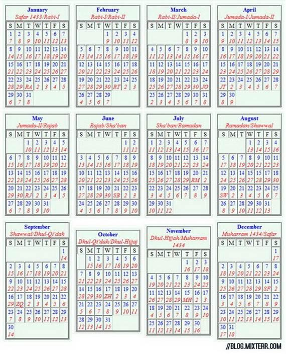 The-Islamic-Lunar-Calendar-Muslim-Calendar-or-Hijri-Calendar-and-Gregorian-Calendar-_05