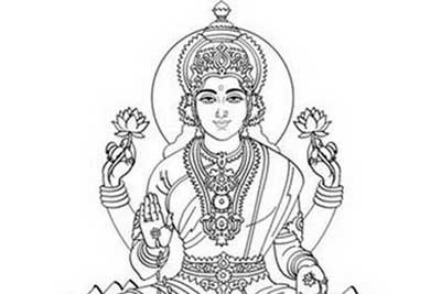 dussehra pics for coloring book pages | Navratri and Dussehra festival coloring pages - family holiday.net/guide to family holidays on ...