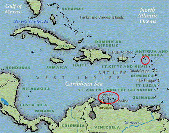 Dutch Caribbean Island Paradise On The