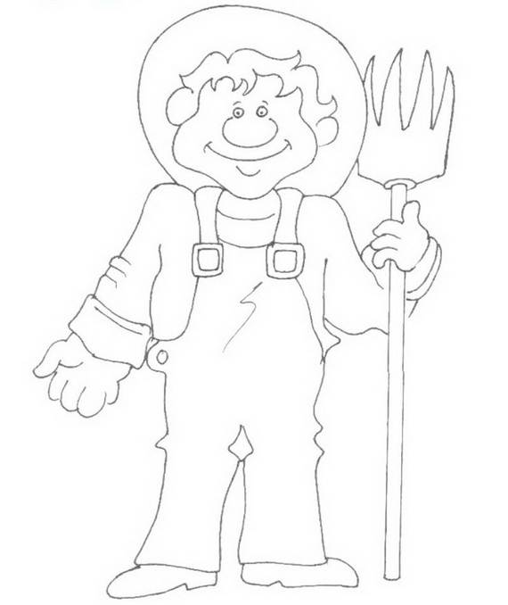 Free Printable Labor Day Coloring Page Sheets for Kids (10)
