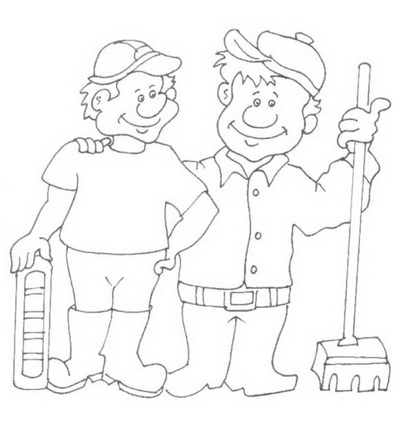Free Printable Labor Day Coloring Page Sheets for Kids (12)