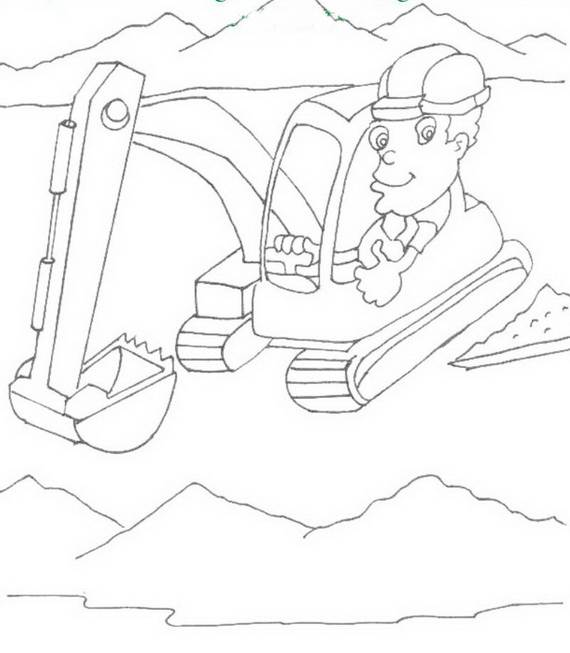 Free Printable Labor Day Coloring Page Sheets for Kids (13)