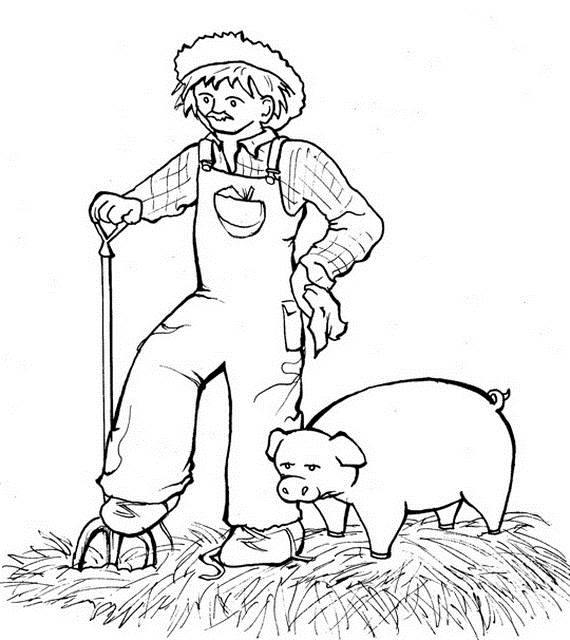 Free Printable Labor Day Coloring Page Sheets for Kids (3)