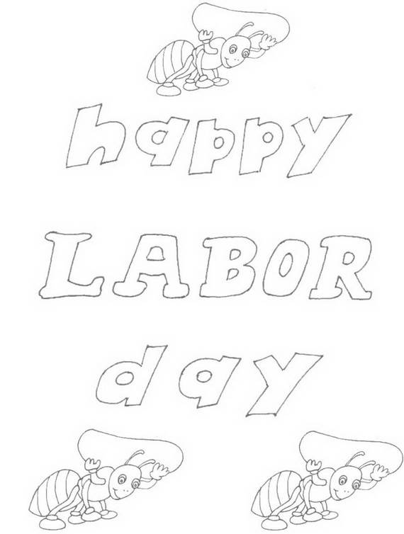Free Printable Labor Day Coloring Page Sheets for Kids (4)