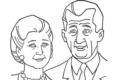 Grandparents Day Coloring Pages to Print and Color ...