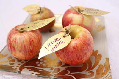An Elegant and Creative Rosh Hashanah Table and decoration ideas