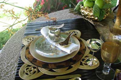Cool Rosh Hashanah table and decoration ideas