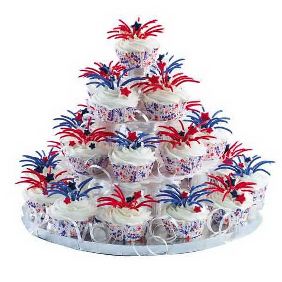 Unusually Delicious Labor Day Cupcake Decorating Ideas (2)