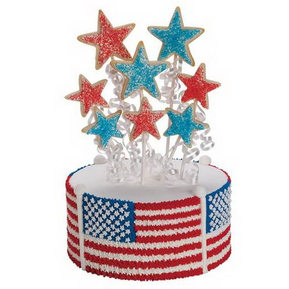 Unusually Delicious Labor Day Cupcake Decorating Ideas (26)