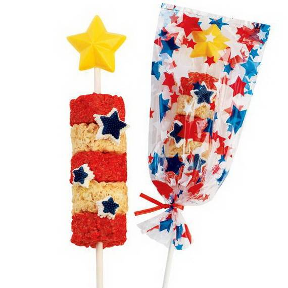Unusually Delicious Labor Day Cupcake Decorating Ideas (34)