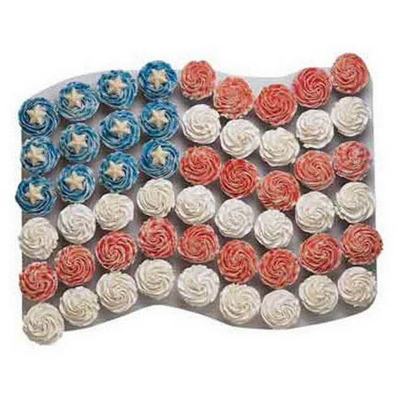 Unusually Delicious Labor Day Cupcake Decorating Ideas (5)