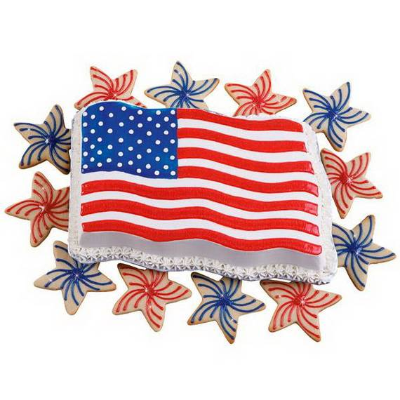Unusually Delicious Labor Day Cupcake Decorating Ideas (9)