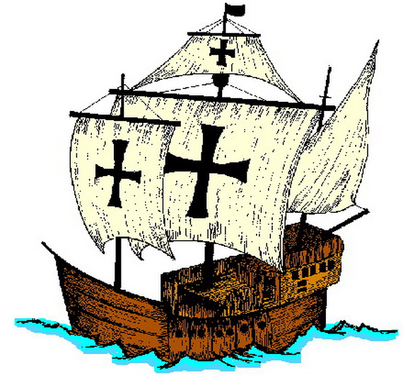 Columbus Day Ships Coloring Pages Family Holiday Net Guide