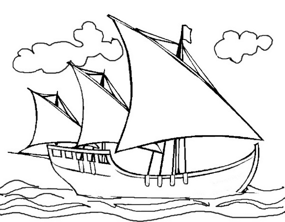 Pictures Of Coloring Ship – Pusat Hobi