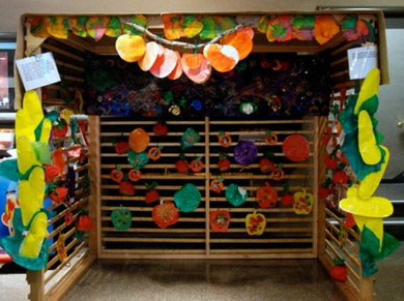 Easy and Inspiring Homemade Sukkah Decoration Crafts for ...